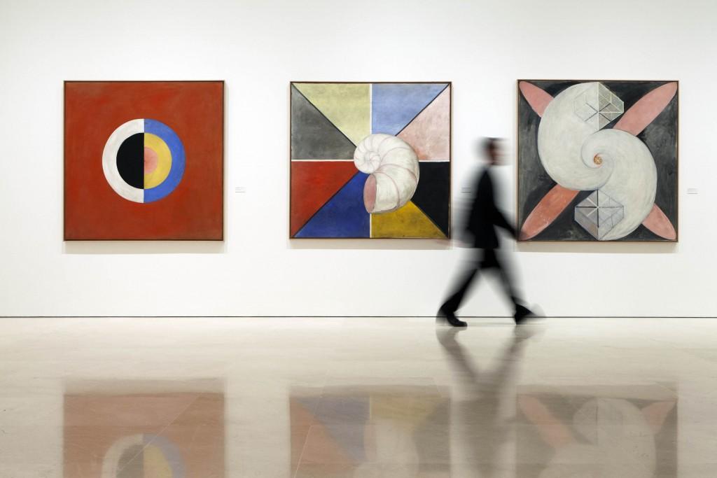 """MALAGA, 131018-Exposicion """"Hilma af Klint. Pionera de la abstraccion"""". Museo Picasso Malaga. Del 21.10.2013-09.02.2014. © MPM/ jesusdominguez.com"""