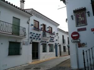 calle santo domingo benalmadena pueblo