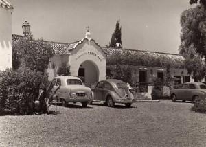 26 Parador+Montemar+fachada+con+coches 30 mayo 1933+postal