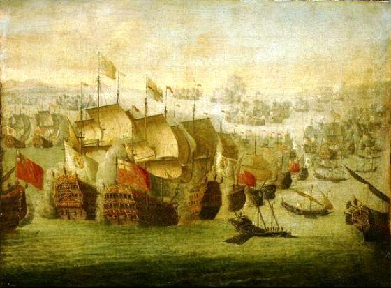 Морское сражение возле Велес – Малаги
