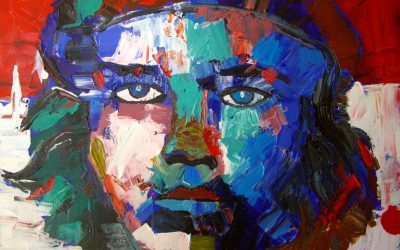 Арт-Выставка юных учеников Оксаны Кузьменко в галерее Kasser Rassu в июне 2016