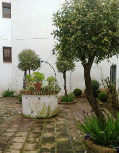 Дворик дома в Ронде, где жил Эспинель. Фото Николас  Демидовс
