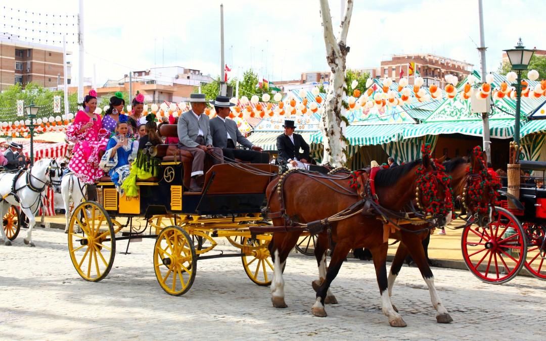 Апрельская Ферия в Севилье 2015