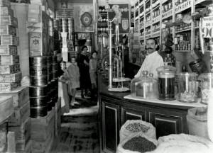 Фотография кондитерской Пратс в Мадриде.