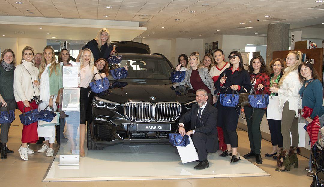 ВИП-презентация новой модели X5 от BMW Automotor Puerto Banús для девушек Клуба инвесторов Люкс Марбелья