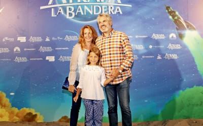 """На презентации нового мульфильма """"Atrapa la Bandera"""""""