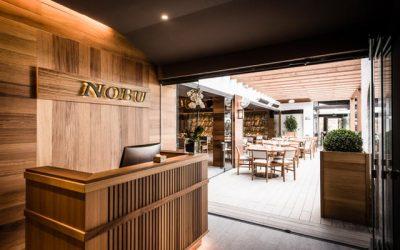 Первый ресторан Нобу в Испании: NOBU Marbella