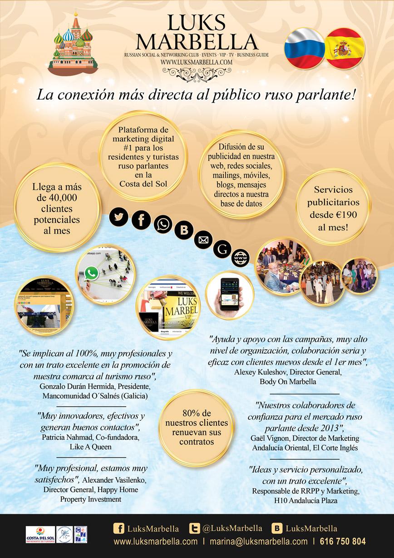 Luks Marbella servicios 2015-2016
