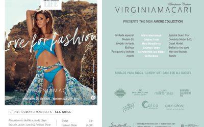 25 апреля 2018г Virginia Macari покажет свою новую модную коллекцию в ресторане Sea Grill @Puente Romano