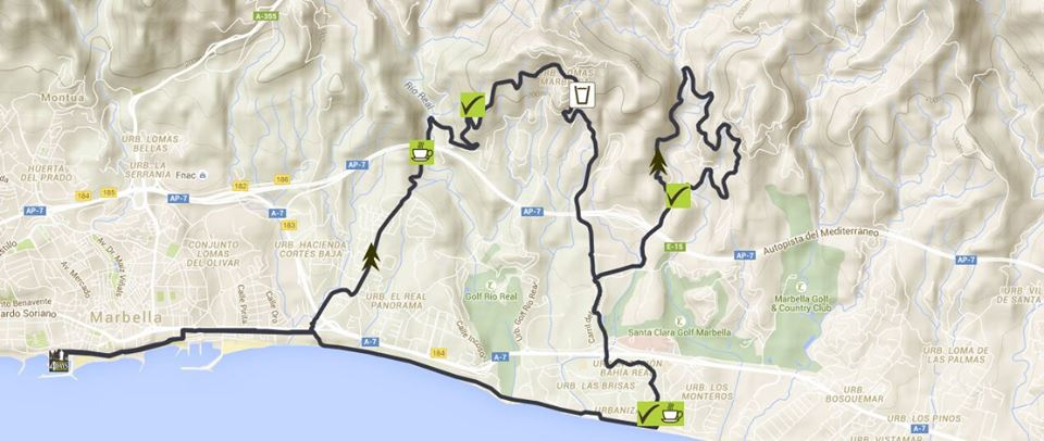 Marbella4dayswalking3 day 3