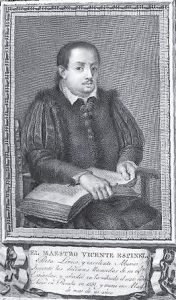 Портрет Висенте Эспинеля