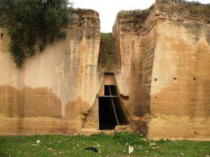 Загадочные сооружения. Фото автора