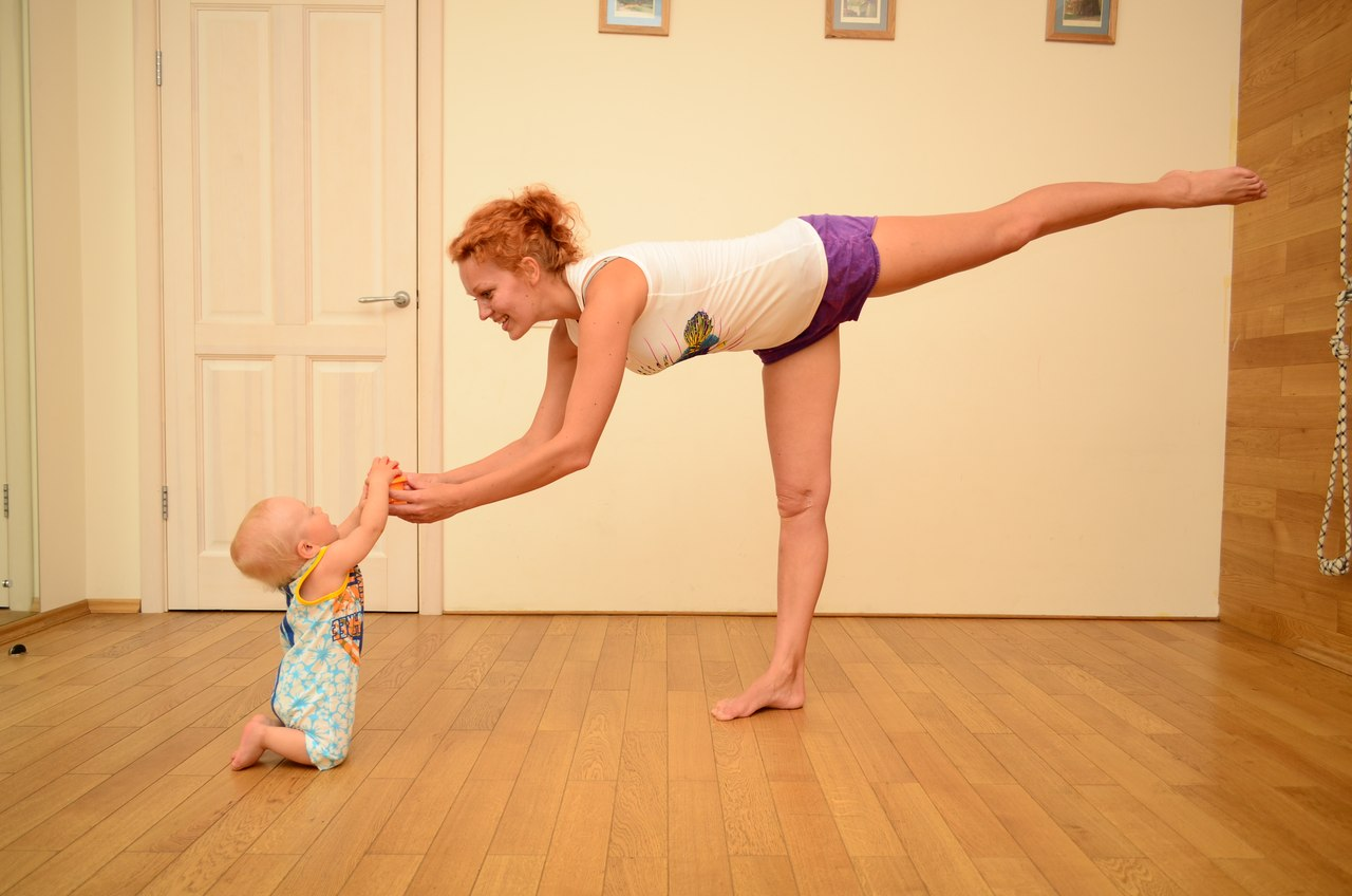 Фитнес детям в домашних условиях