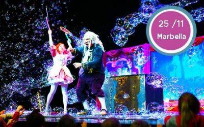 """Гастроли детского спектакля """"Магия Мыльных пузырей"""" (La Magía de Burbujas)"""