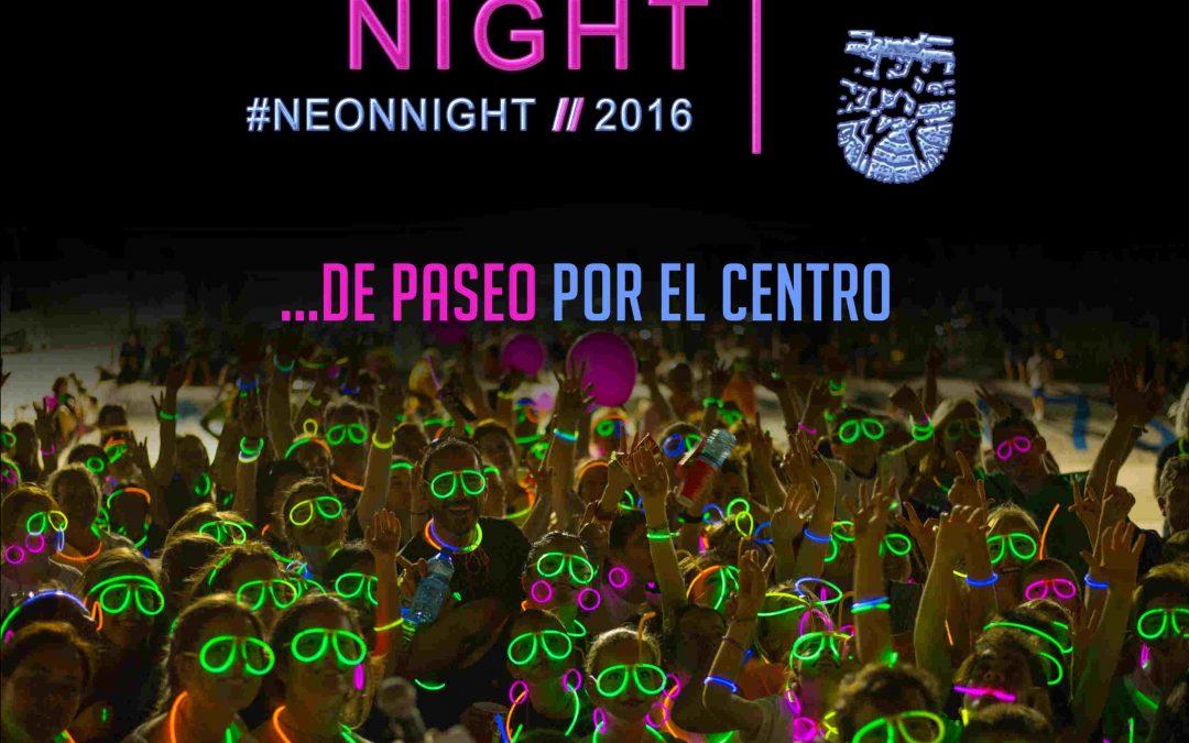 Благотворительная прогулка с неоновыми аксесуарами // Neon Night Marbella 2016