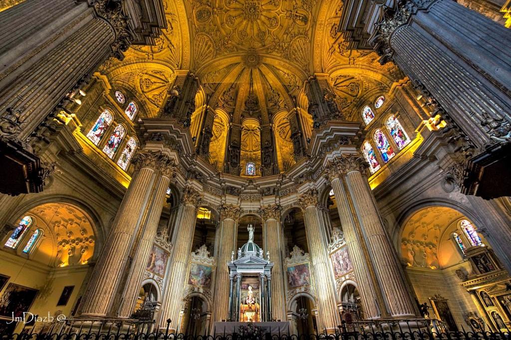 01 La catedral de malaga por dentro