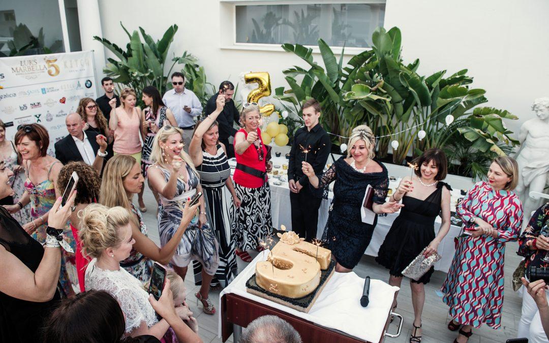 Клуб светско-делового общения Люкс Марбелья празднует свой 5-ый юбилей