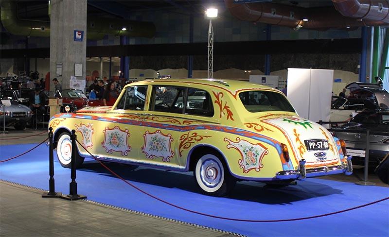 Выставка старинных автомобилей в Малаге