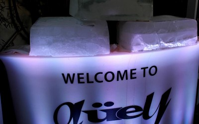 """Güey """"Fire And Ice (Red And White) Party"""""""