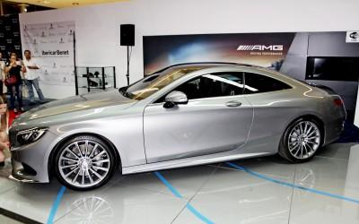 Presentación del nuevo Mercedes S Coupé 500
