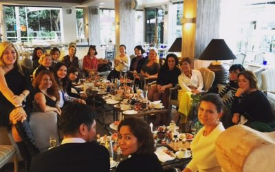 Солидарная встреча в ресторане Sea Grill при Пуенте Романо на золотой миле, Марбелья