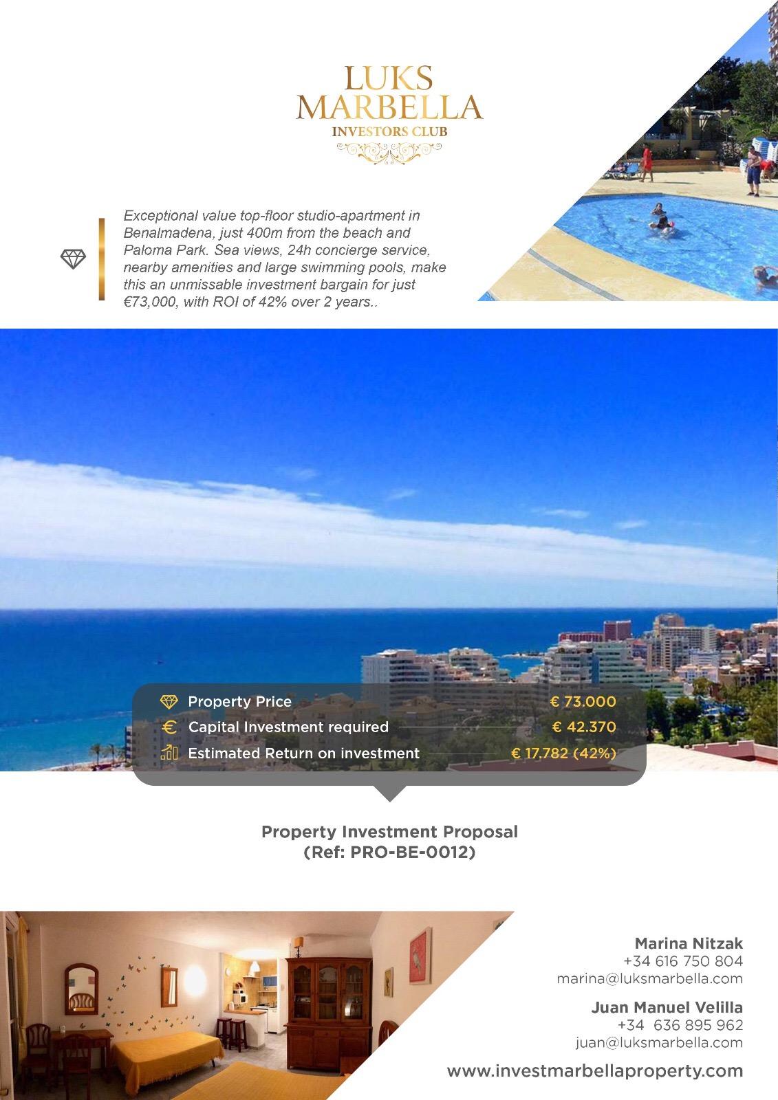 Инвестиционная недвижимость на Коста дель Соль
