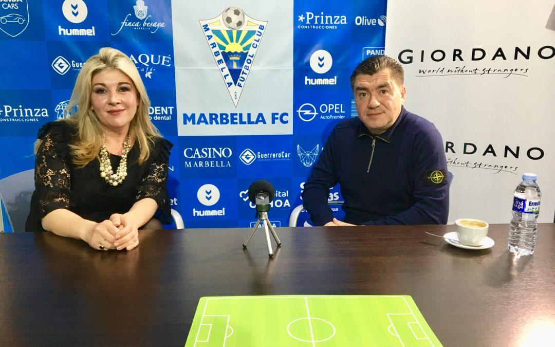 ЭКСКЛЮЗИВНОЕ Интервью с Александром Гринберг, президентом Футбольного клуба Марбелья