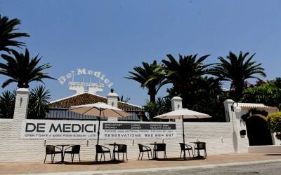 Фото-дегустация блюд в новом ресторане De´ Medici