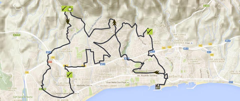 Marbella4dayswalking3 day 2