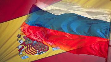 bandera españa rusia