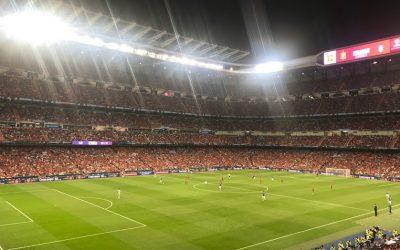 """Футбольный матч """"Испания-Италия"""" на Сантьяго Бернабеу, или Мадрид ближе, чем кажется"""